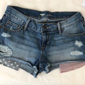 Fun and comfy jean shorts!